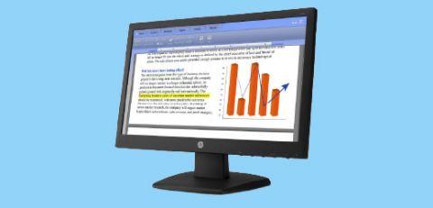 HP V Series Monitors
