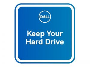 Dell 3Y Keep Your Hard Drive - extended service agreement - 3 years