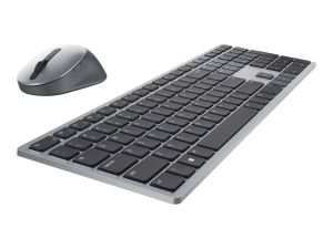 Dell Premier Multi-Device KM7321W - keyboard and mouse set - QWERTY - UK - titan grey