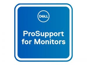 Dell Upgrade from 3Y Basic Advanced Exchange to 5Y ProSupport for monitors - extended service agreement - 5 years - shipment