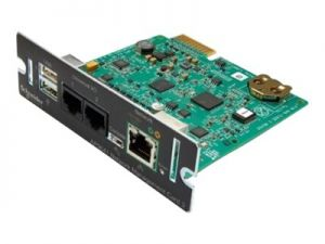 APC Network Management Card 3 with PowerChute Network Shutdown & Environmental Monitoring - remote management adapter