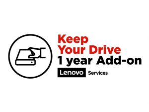 Lenovo Keep Your Drive Add On - extended service agreement - 1 year