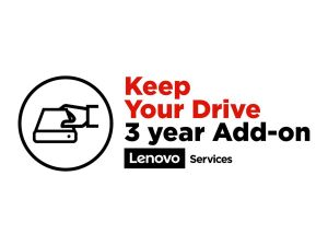Lenovo Keep Your Drive Add On - extended service agreement - 3 years