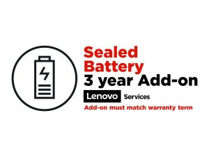 Lenovo Sealed Battery Add On - battery replacement - 3 years