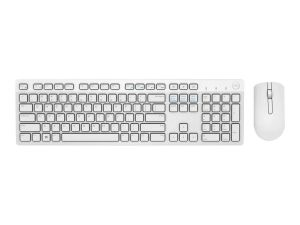 Dell KM636 - keyboard and mouse set - QWERTY - UK - white