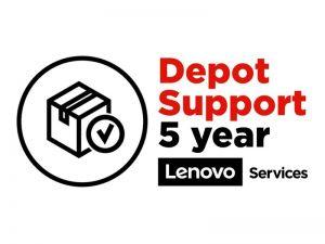 Lenovo Expedited Depot/Customer Carry In Upgrade - extended service agreement - 5 years