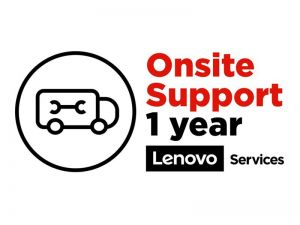 Lenovo Onsite Upgrade - extended service agreement - 1 year - on-site
