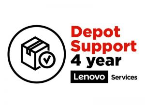 Lenovo Depot/Customer Carry-In Upgrade - extended service agreement - 4 years
