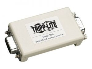 Tripp Lite Network In-Line Dataline Surge Protector 120V / 230V 9-PIN DB9 - surge protector