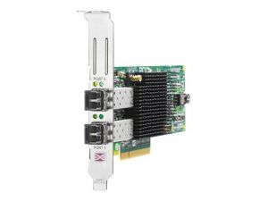 HPE 82E - host bus adapter - PCIe 2.0 x4 / PCIe x8 - 8Gb Fibre Channel x 2